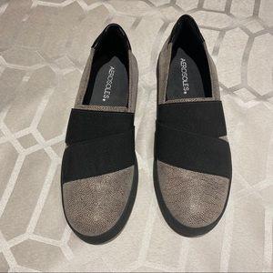 Aerosoles Ship Board Leather Slip-on Sneaker Sz 7
